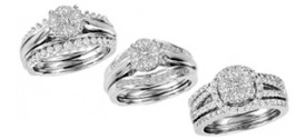Bridal 3-Piece Ring Sets