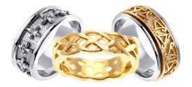 Celtic Wedding Bands