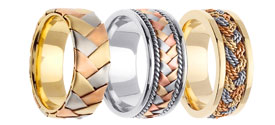 Designer Tri-Color Bands