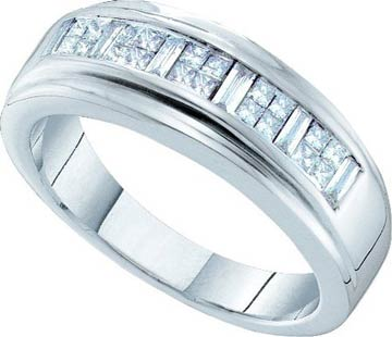 Ladies Diamond Band 14K White Gold 0.50 cts. GD-19655
