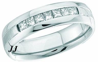 Ladies Diamond Band 14K White Gold 0.50 cts. GD-40919