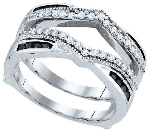 Diamond Ring Enhancer 10K White Gold 0.50 cts. GD-92267