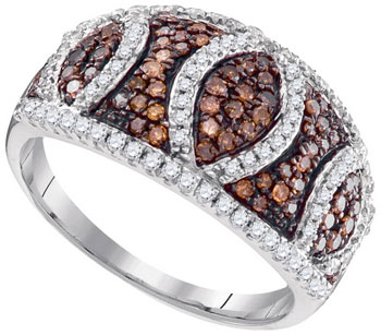 Ladies Diamond Fashion Ring 10K White Gold 0.75 cts. GD-95200
