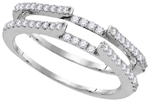Diamond Ring Enhancer 14K White Gold 0.50 cts GD-105947
