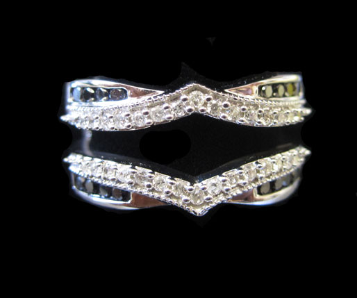 Diamond Ring Enhancer 14K White Gold 0.50 cts GD-92932