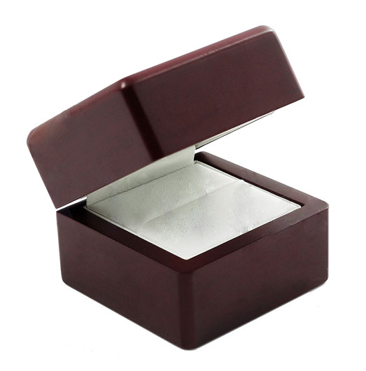 Luxury Premium Wooden Style Cherry Ring Box Upgrade WCBOX